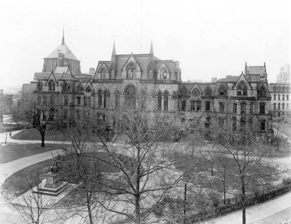 College Hall, ca. 1940