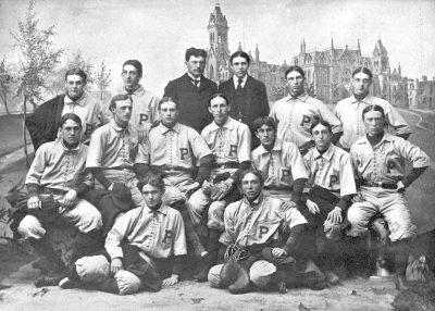 University baseball team, 1896
