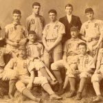 University baseball team, 1889