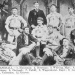 University baseball team, 1890