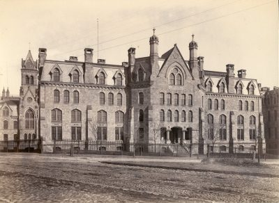 Medical Hall (built 1873), later Logan Hall and then Claudia Cohen Hall, c. 1890