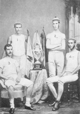 Men's crew, eight-oars, 1879