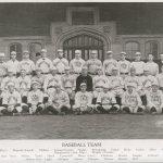 Varsity baseball team, 1917