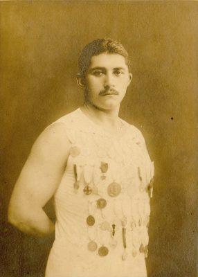 Michail M. Dorizas, c. 1915