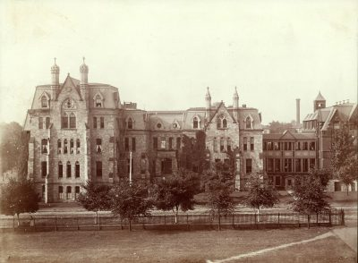 Hospital of the University of Pennsylvania, original building, 1888
