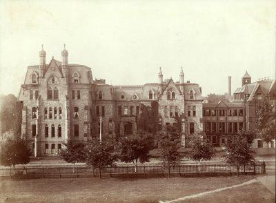 Hospital of the University of Pennsylvania, original building, 1888