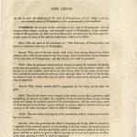1791 Charter