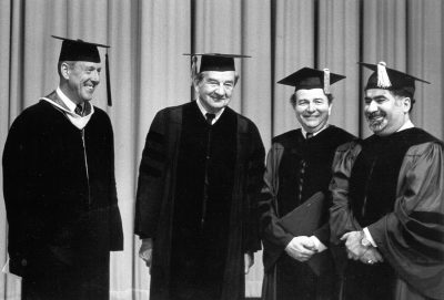 Commencement dignitaries, 1980