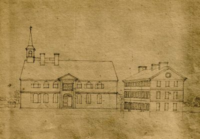 Fourth Street campus, c. 1770