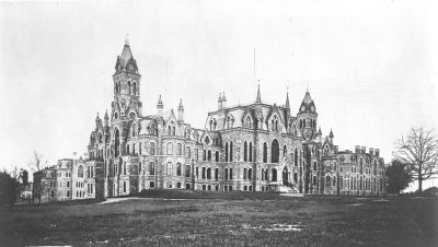 College Hall, c. 1874