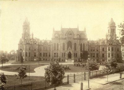 College Hall, c. 1890