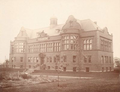 Dental Hall (now Hayden Hall), c. 1901