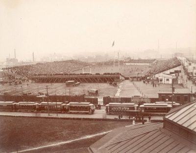 Franklin Field, Penn vs. Harvard football game, c. 1901