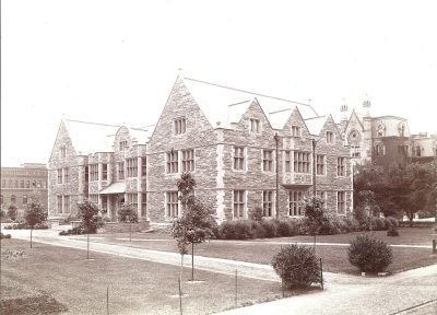 Houston Hall, 1900