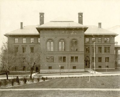 Hospital of the University of Pennsylvania, D. Hayes Agnew Memorial Pavilion, c. 1902