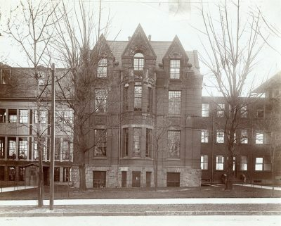 Hospital of the University of Pennsylvania, Gibson Wing for Chronic Diseases, c. 1905