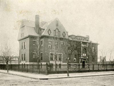 Hospital of the University of Pennsylvania, Wood Memorial Nurses Home, 1894