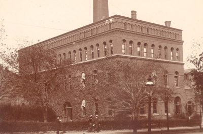 Mechanical (Engineering) Laboratory and Central Heat and Power Plant, c. 1901