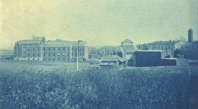 School of Veterinary Medicine and Veterinary Hospital, c. 1885
