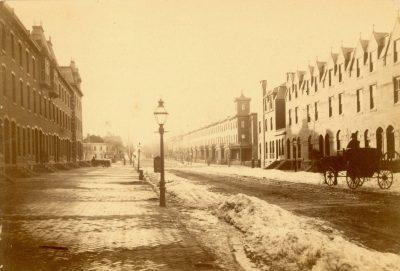 Walnut Street, 3300 block, 1882