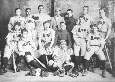 University baseball team, c. 1888