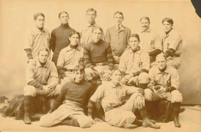 University baseball team, 1897