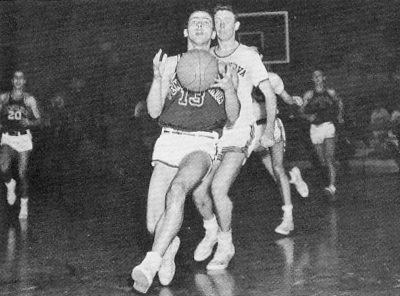 Basketball, Penn vs. Villanova, 1955-1956 season