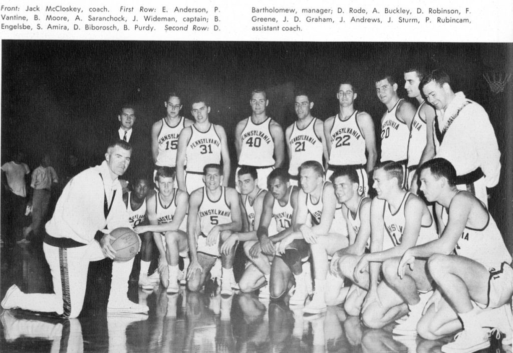 Basketball team, 1963