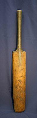 Cricket bat, c. 1890