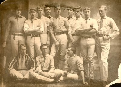 Cricket team, 1883
