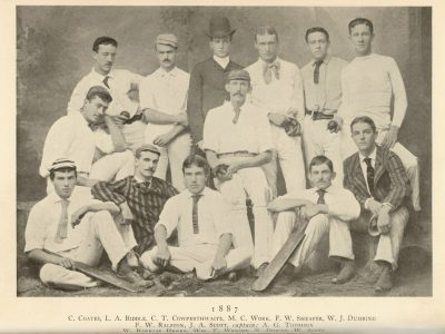 Cricket team, 1887