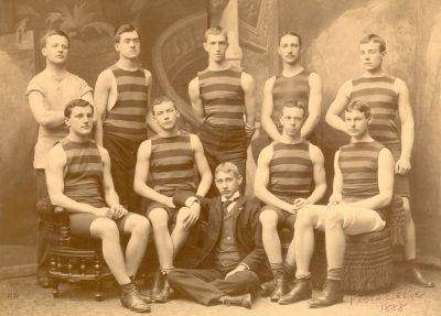 Men's crew, 1884 freshman team (Class of 1888)