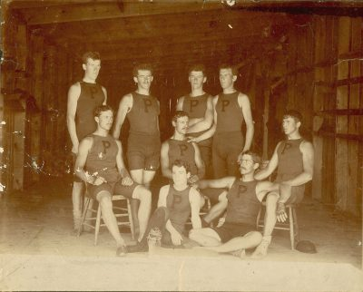 Men's crew, eight-oars, 1893