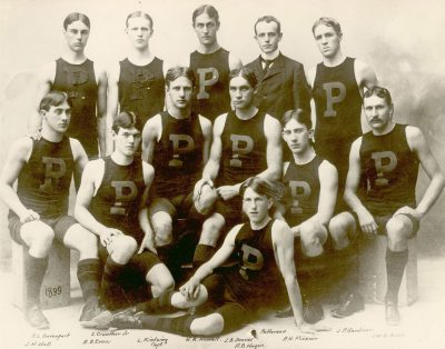 Men's crew team, 1899