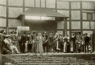 "Philomathean Society, ""The Masque of American Drama,"" 1917"