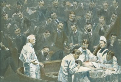 The Agnew Clinic, by Thomas Eakins, 1889
