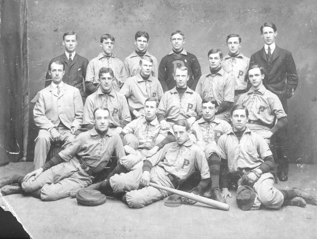 University baseball team, 1903