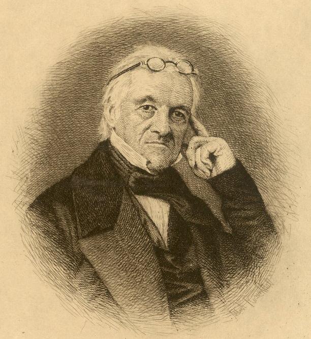 John Redman Coxe, c. 1840