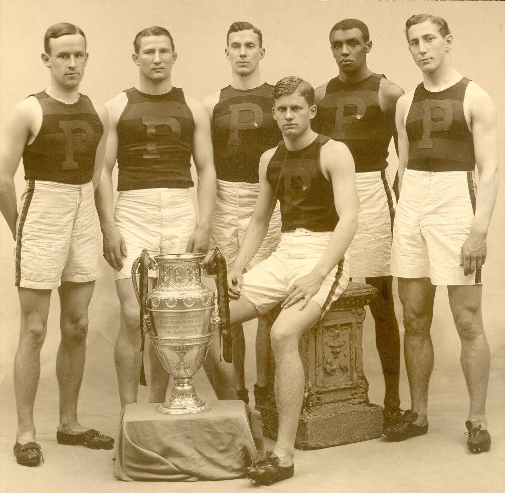 Men's track team, 1907
