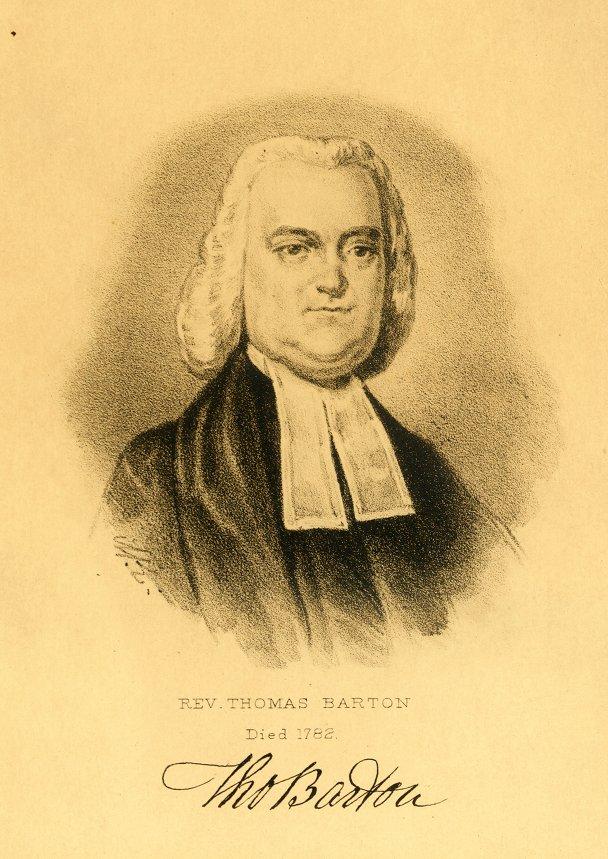 Thomas Barton, c. 1770