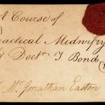 Admission ticket to Thomas Bond's lectures on practical midwifery, 1769