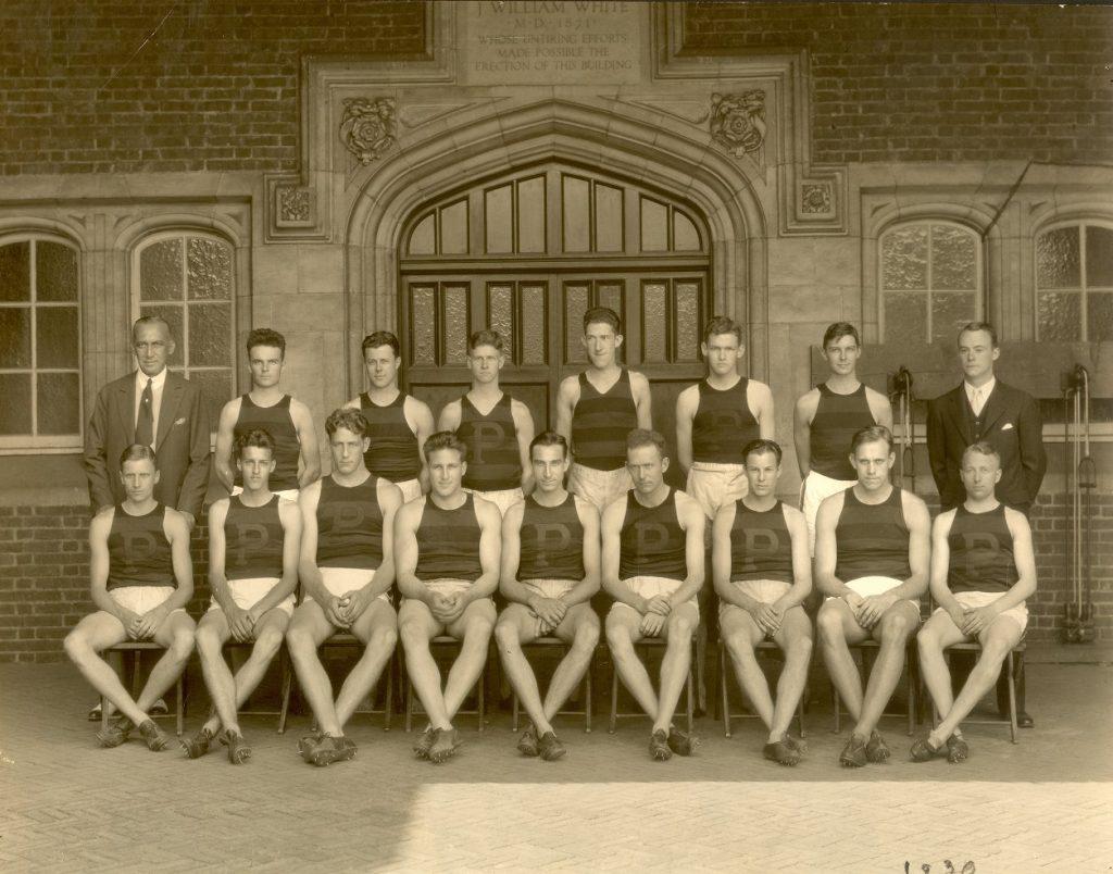 Varsity track team, 1930
