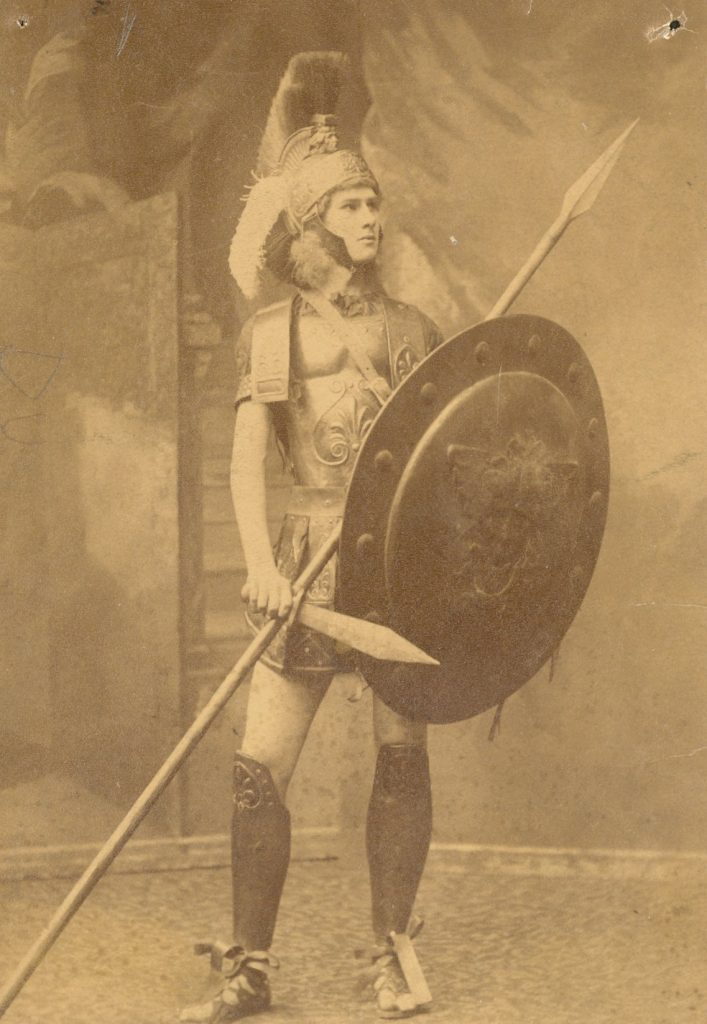 George Wharton Pepper in 'The Acharnians of Aristophanes,' 1886