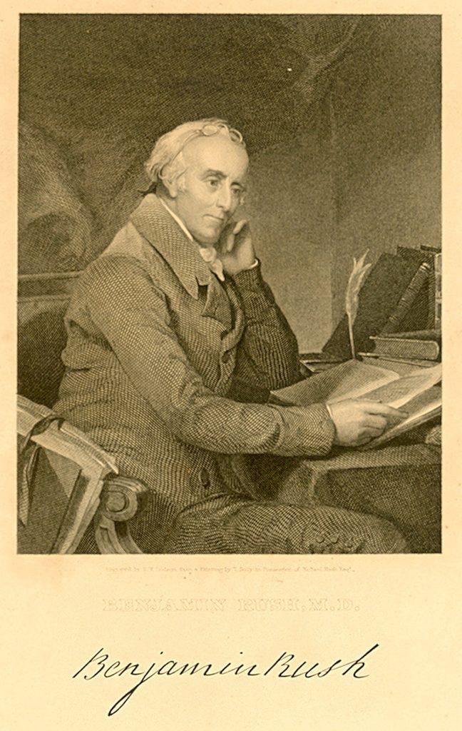 Benjamin Rush, c. 1800