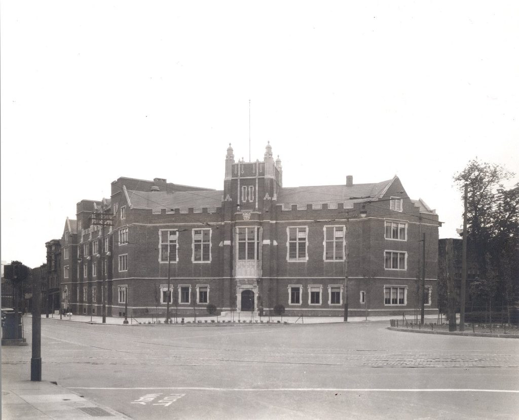 Bennett Hall, now Fisher-Bennett Hall, c. 1930