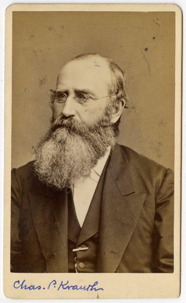 Charles Porterfield Krauth, c. 1880