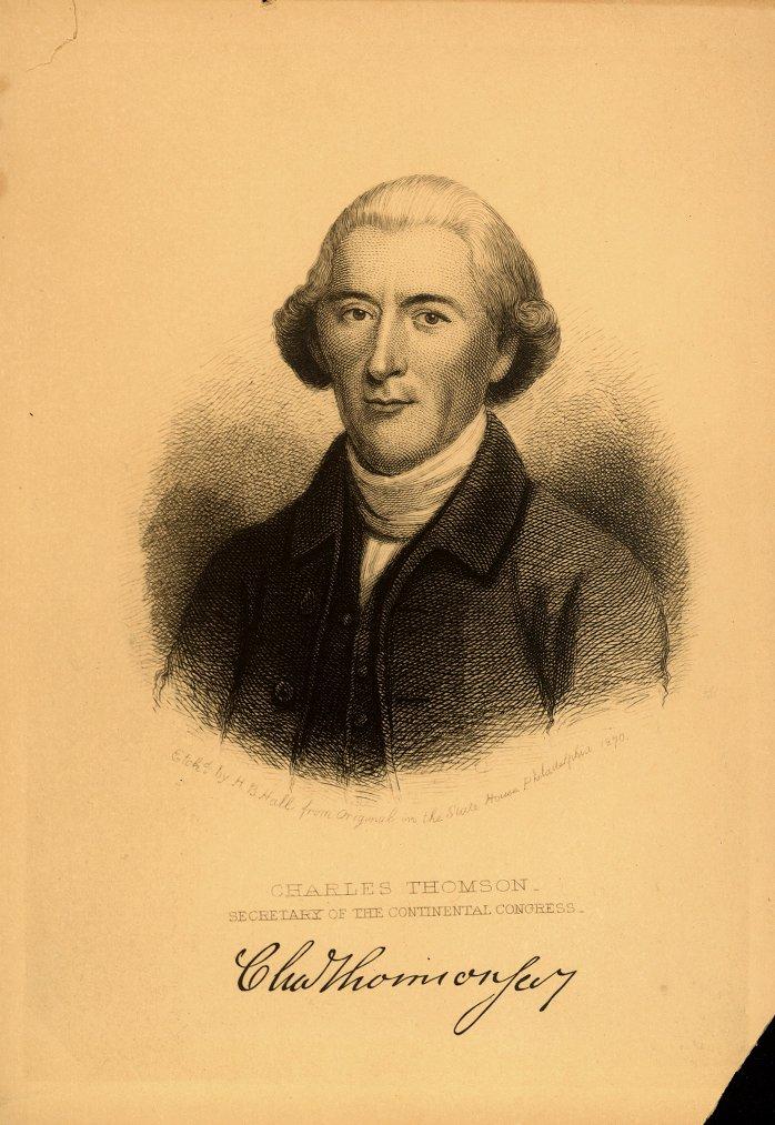 Charles Thomson, 1870