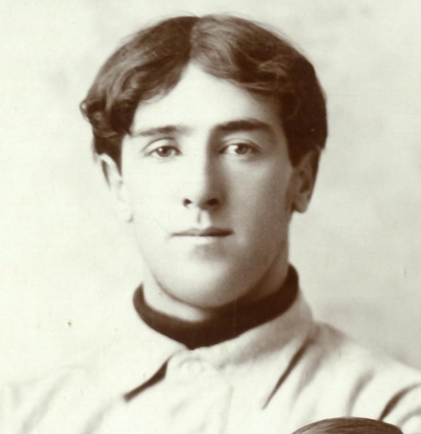Frank Joseph Sexton, University of Michigan varsity baseball team photograph, 1895