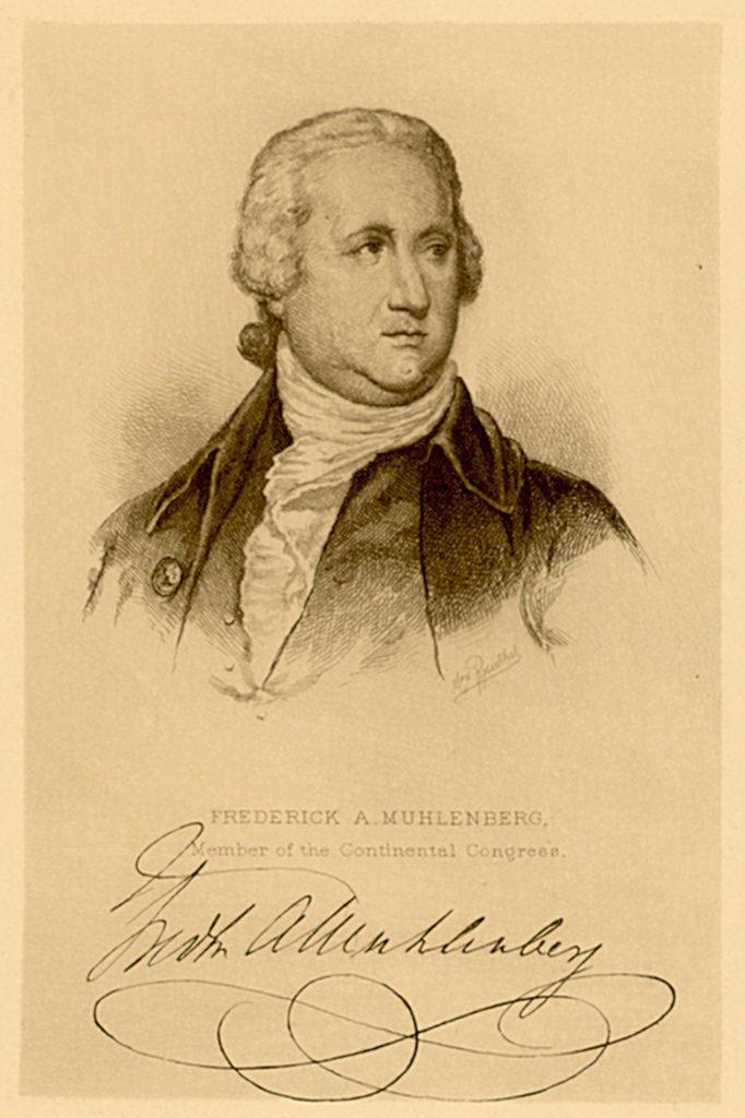 Frederick Augustus Conrad Muhlenberg, c. 1790