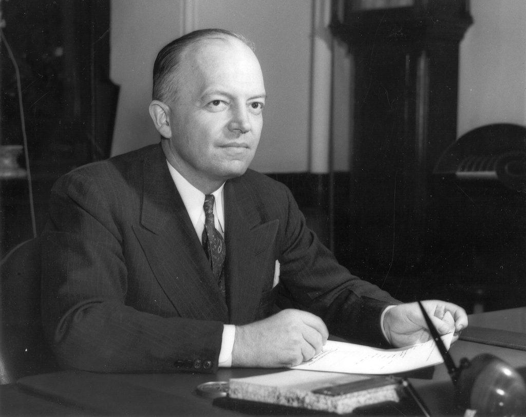 Harold Edward Stassen, c. 1950